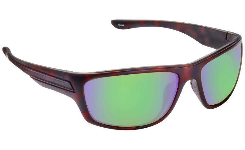 Fisherman Eyewear Tort/Brown w/ Greenn Revo Mirror