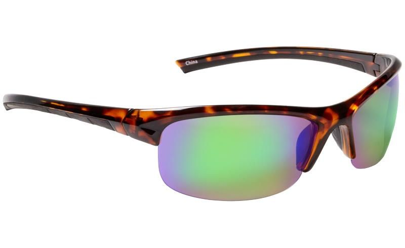 Fisherman Eyewear Tern Tort/Brown w/green mirror