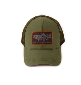 Fishpond Retro Pescado Trucker Hat (Olive)