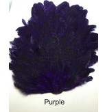 MFC Barred Saddle Hackle Purple/Black