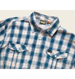 Howler Gaucho Snapshirt (Nueches Plaid Blue)