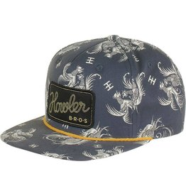 Howler Prize Fight Snapback (Blue Grey)