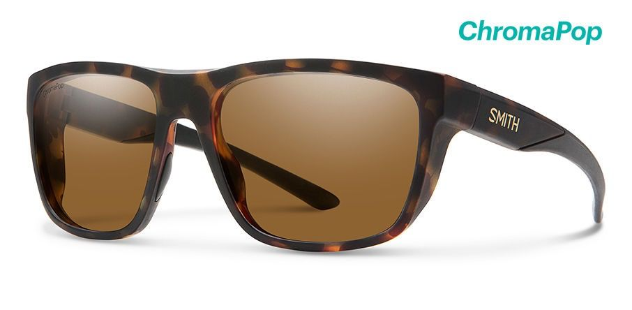 Smith Barra Matte Tortoise/ChromaPop Polarized Brown