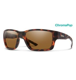 Smith Outback Matte Tortoise/ChromaPop Polarized Brown
