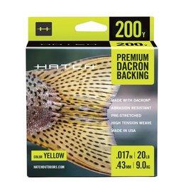 Hatch Premium Dacron Backing 20lb (200 yd)