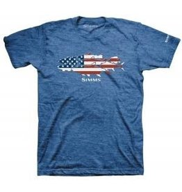 Simms Flag Species T-Shirt Royal Heather