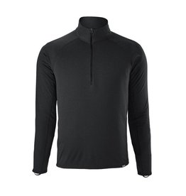 Patagonia Men's Capilene Midweight Zip Neck Black