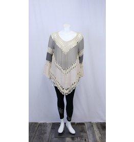 Umgee Crochet Top