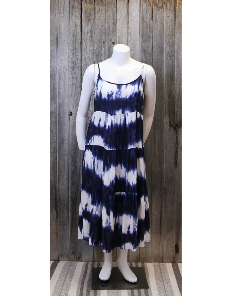 Cielo Blue Tie Dye Sundress
