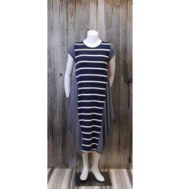 Cielo Blue Bamboo T Shirt Dress
