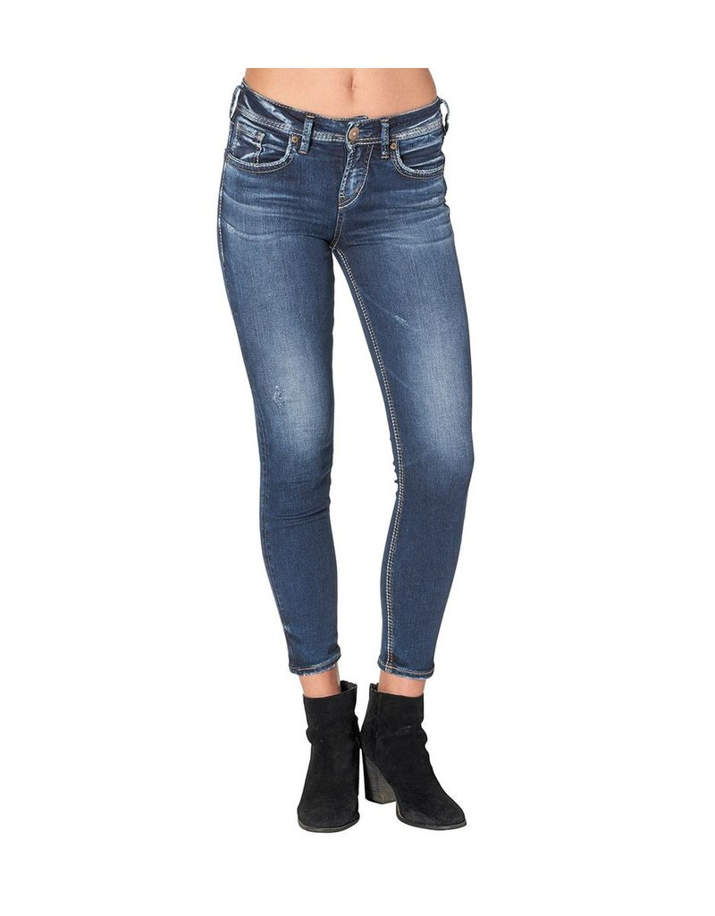 Silver Jeans Co Avery Ankle Skinny ~ High Rise