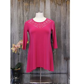 Sympli Deco Tunic 3/4 Sleeve
