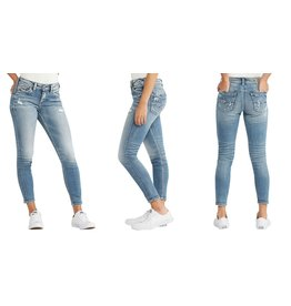 Silver Jeans Co Avery High RIse Ankle Skinny