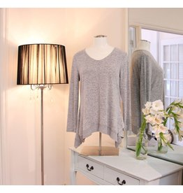 TRIBAL Vee Knit Tunic