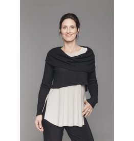 Sympli In Stock Weight Off Your Shoulder Sweater