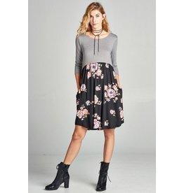 ODDI Babydoll Pocket Dress