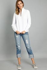 Mododoc Zip Neck Sweatshirt