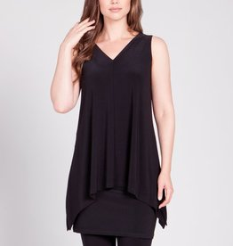 Sleeveless Mimic Top