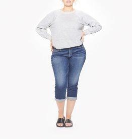 Silver Jeans Co Elyse Capri +