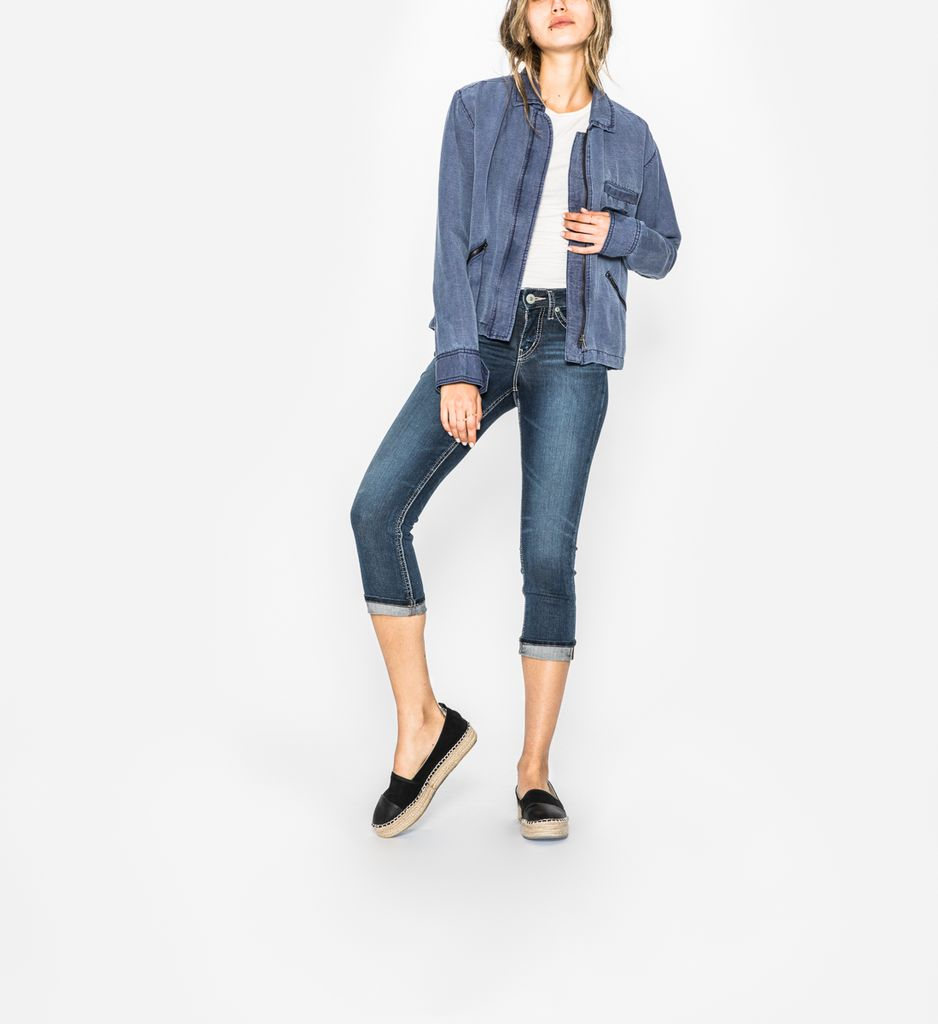 Silver Jeans Co Suki Capri