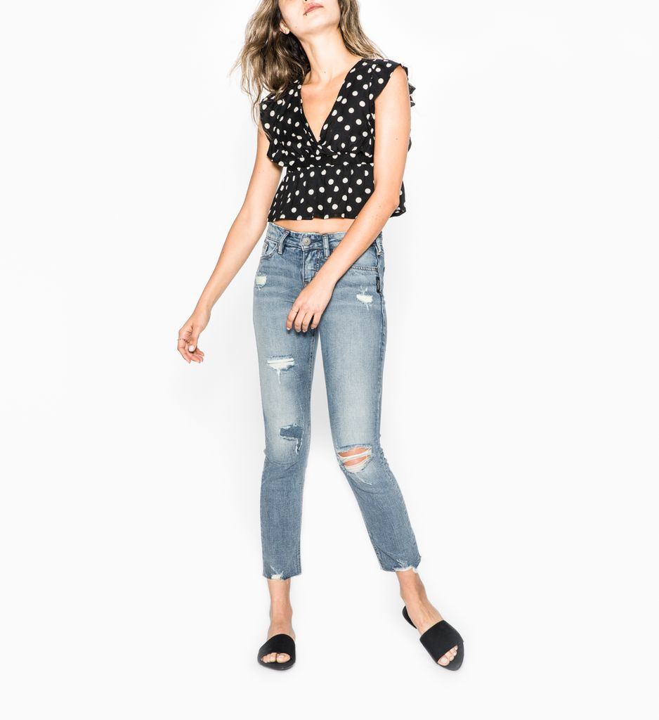 Silver Jeans Co Suki Ankle Slim
