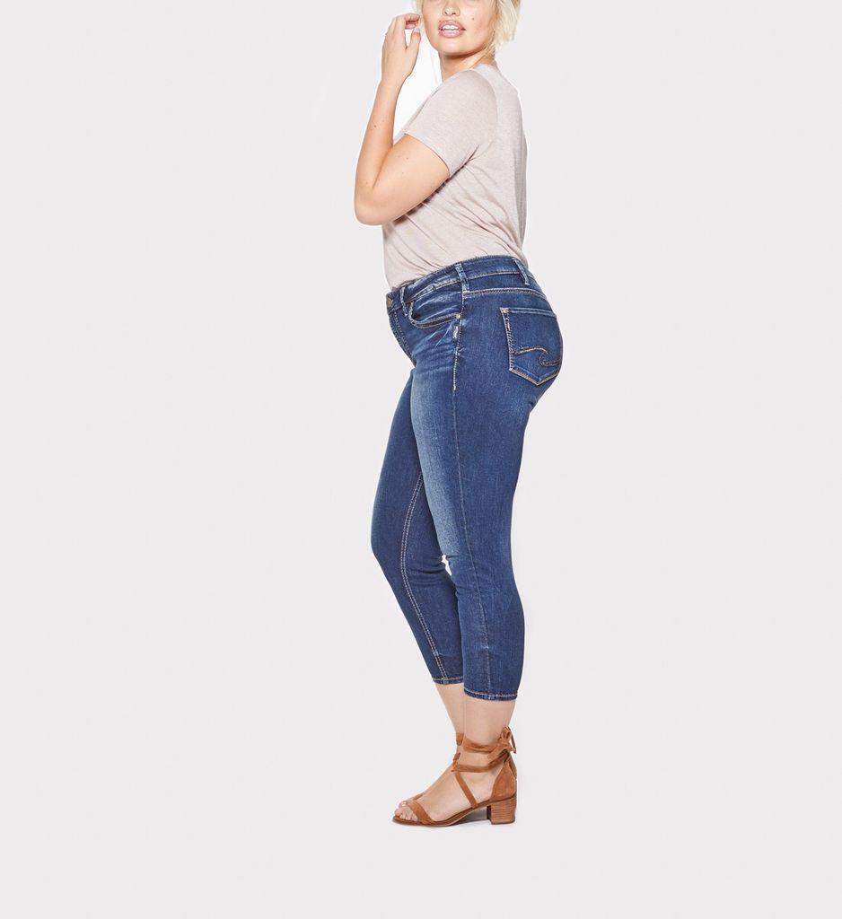 Silver Jeans Co Suki Skinny Crop +