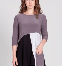 Matrix Pocket Tunic 3/4 Sleeve