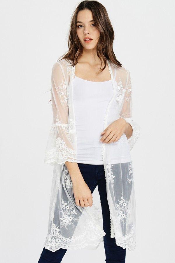 Dreamy Lace Kimono