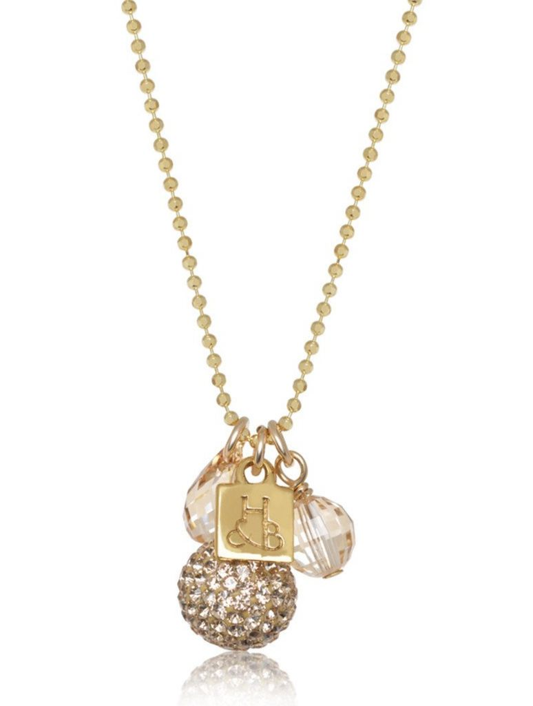 Hillberg & Berk Sparkle Cluster Necklace