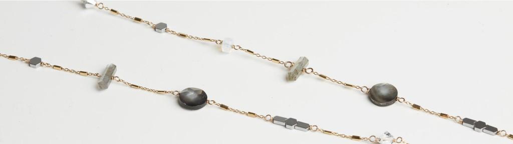 Hillberg & Berk Delta Necklace Long