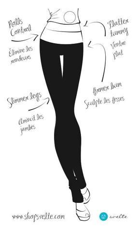Svelte Basic Capri Leggings