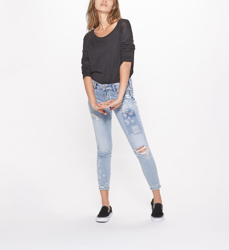 Silver Jeans Co Aiko Ankle Skinny