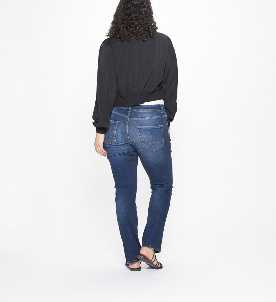 Silver Jeans Co Elyse Straight +