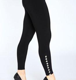 Diva Leggings  *Metal Buttons*