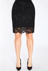 Lace Reversible Mini Skirt
