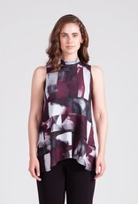 Sleeveless Waterfall Top