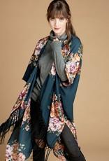 Boho Fall Fringe Kimono