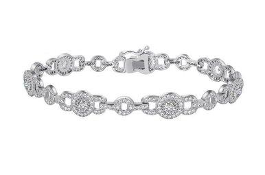 Lafonn 4.90 cttw 322 Stone Bracelet