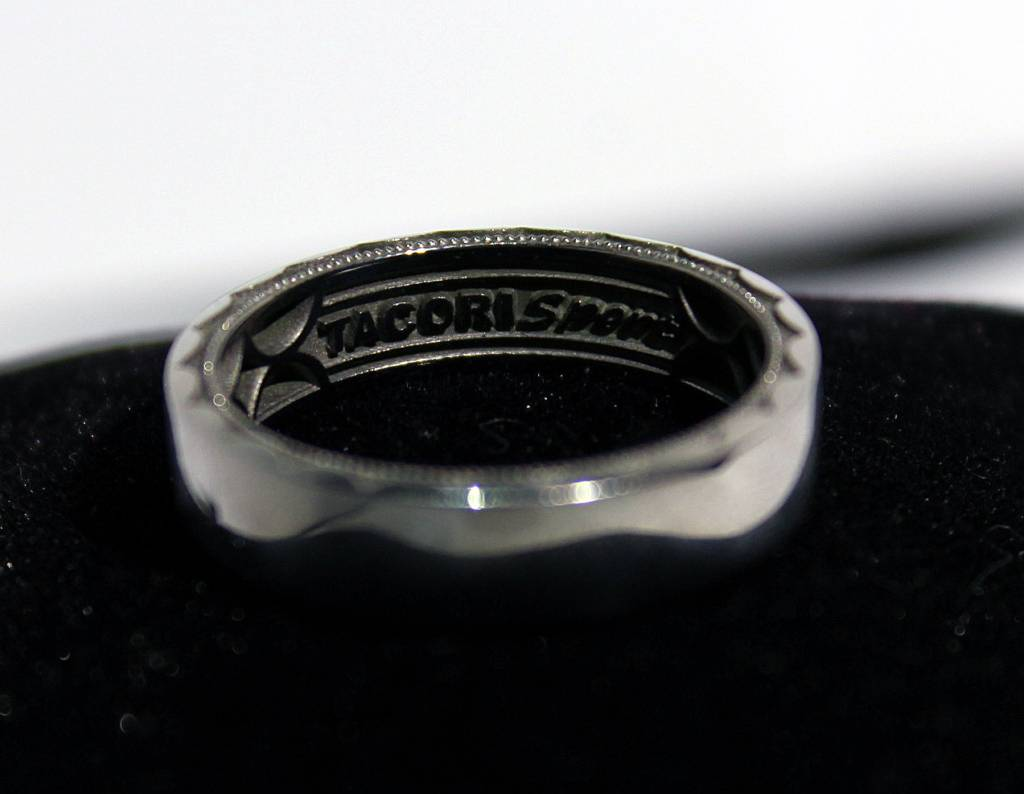 tacori stainless steel exclusive 6st sz me tacori mens wedding bands Tacori Stainless Steel EXCLUSIVE 6ST Sz 10 5 Men s Sport Wedding Band