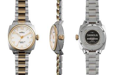 Shinola Brakeman 32mm Two-Tone Watch