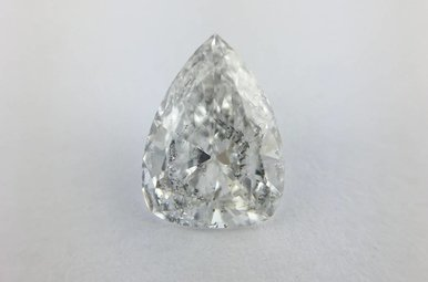 1.01ct E/SI3 (EGL) Pear Cut Diamond