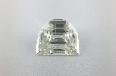 0.80ct I/SI2 Fancy Shield/Half Moon Cut Diamond