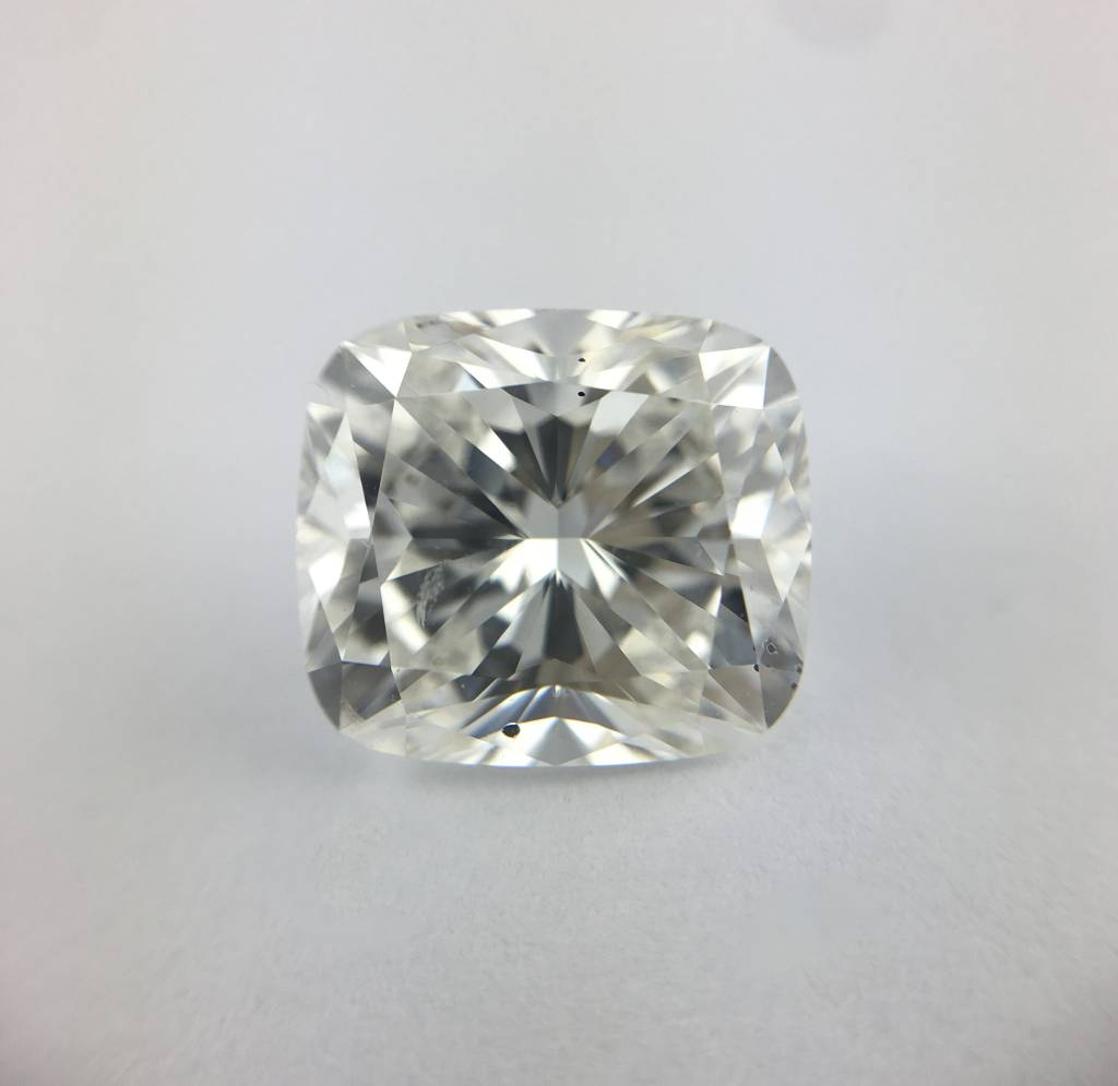 2.50ct H/SI1 (GIA-XXX) Cushion Brilliant Cut Diamond