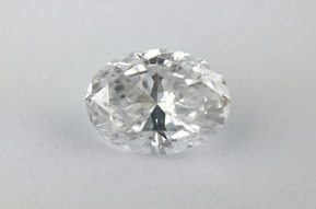 1.00ct D/SI1 (GIA) Oval Cut Diamond