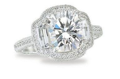 LAFONN R0111CLP ENGAGEMENT RING