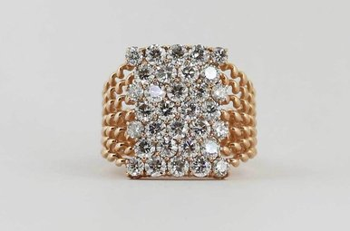 14KR 2.47CTW LADIES DIAMOND FASHION RING