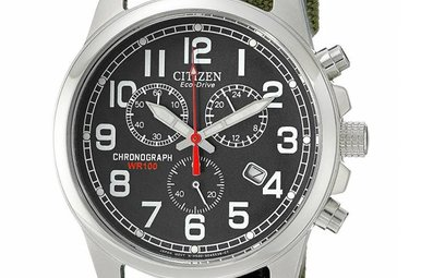 Citizen Eco Drive Military Chronograph Men's Watch