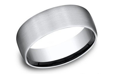 CF717561CC COBALT 7.5MM BENCHMARK WEDDING BAND SIZE 10
