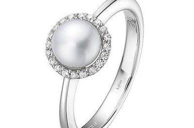 Lafonn Pearl Birthstone Ring