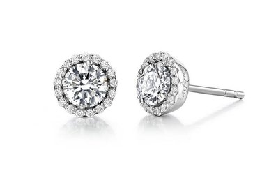 Lafonn Sim Diamond Birthstone Earrings